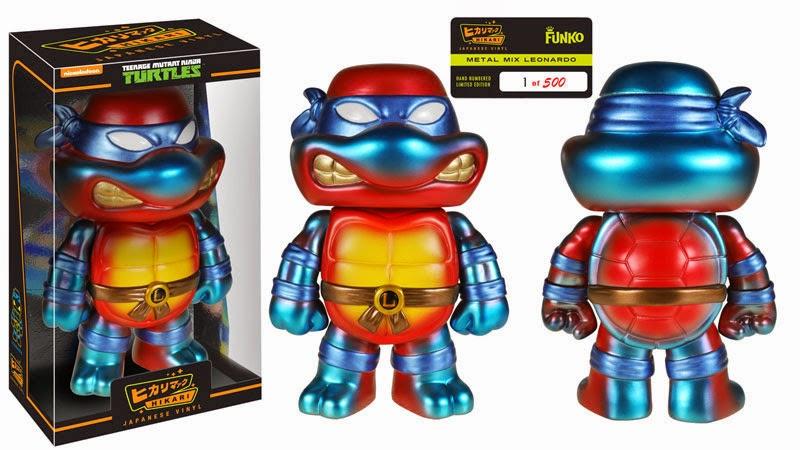 Teenage Mutant Ninja Turtles With Pop Vinyl Figures