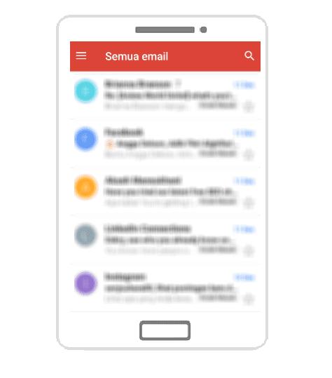 Menemukan Email Arsip Di Android