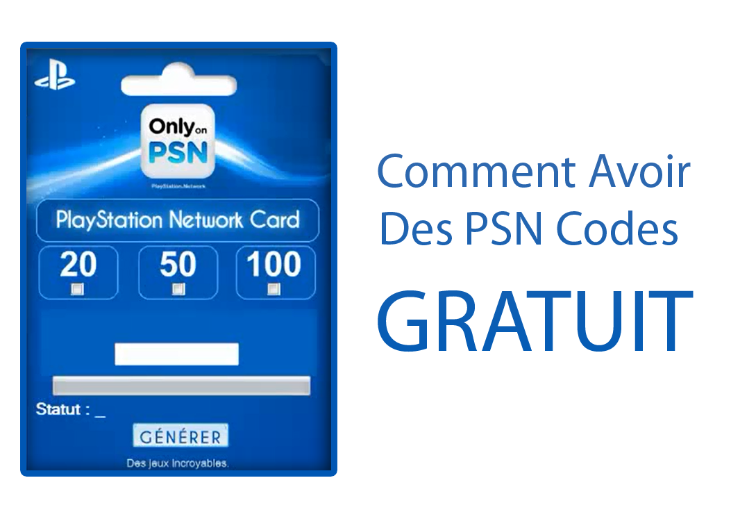 comment avoir des codes psn gratuit hack et cheats gratuit. Black Bedroom Furniture Sets. Home Design Ideas