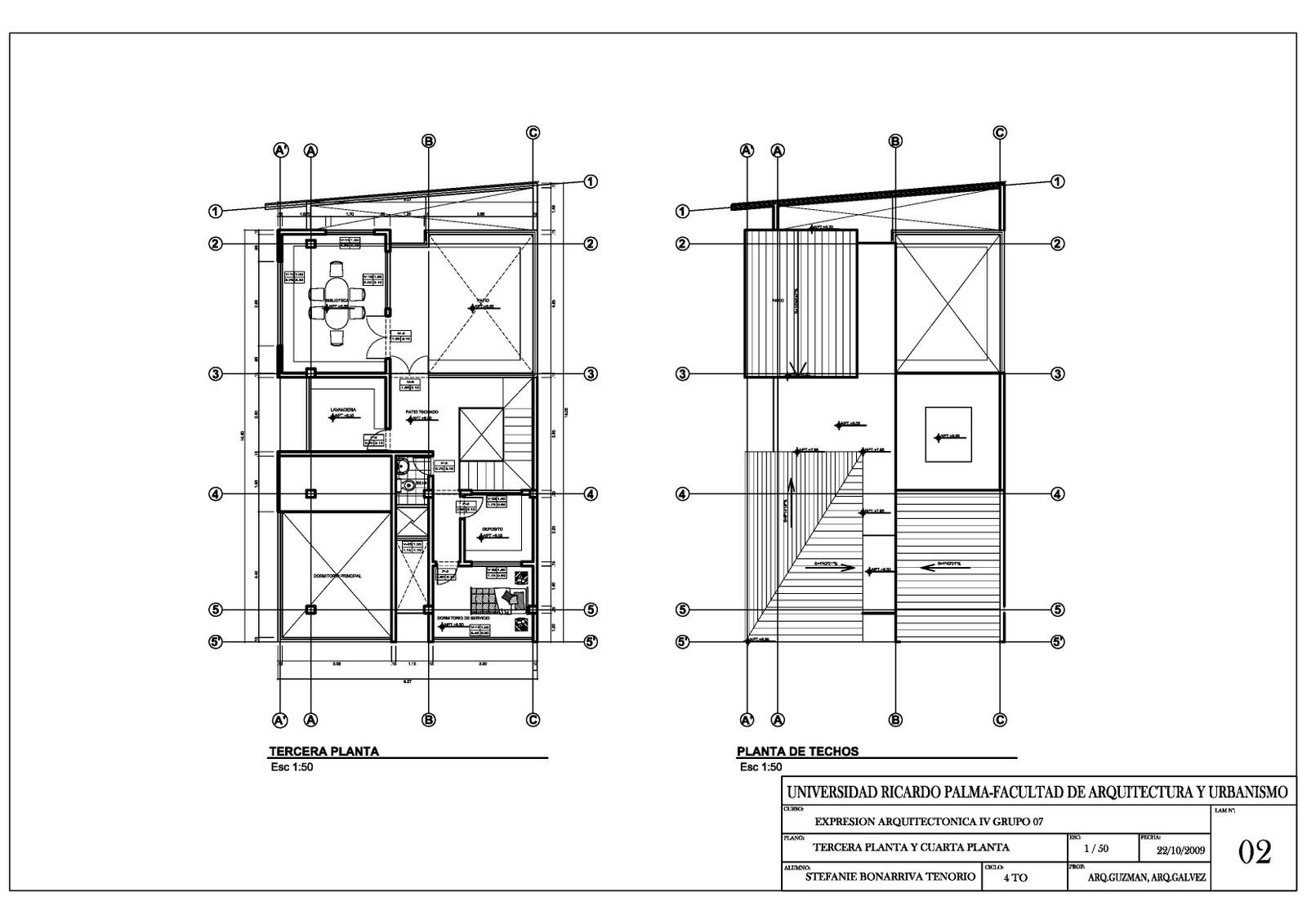 Planos generales clave y numero de escala en planos for Planos de arquitectura pdf