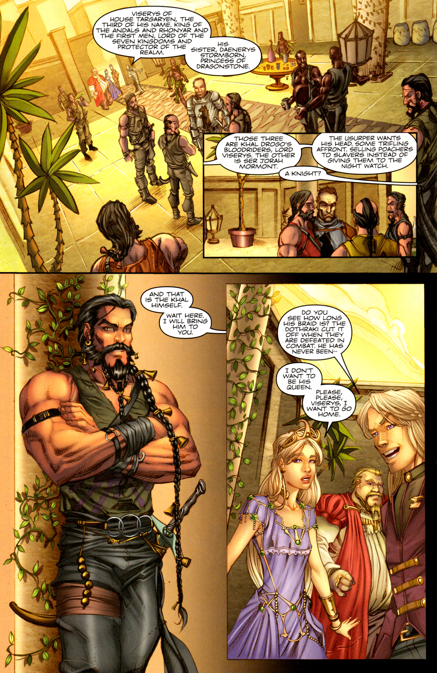 Read online A Game Of Thrones comic -  Issue #1 - 30