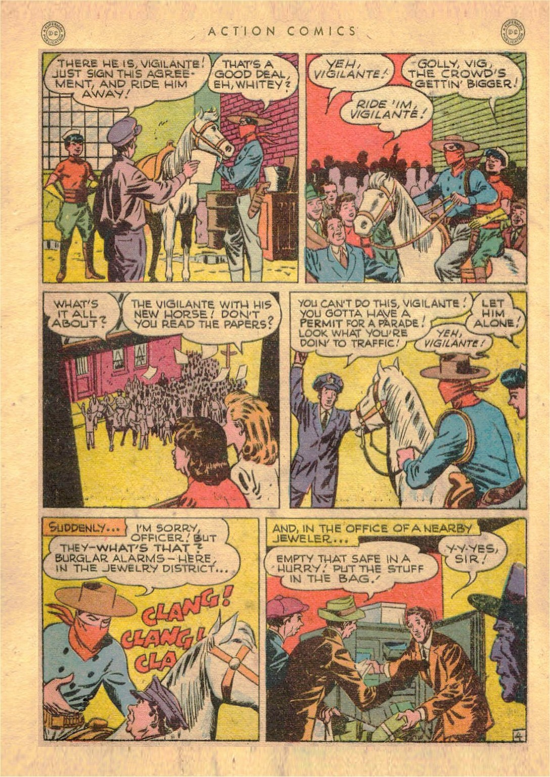 Read online Action Comics (1938) comic -  Issue #107 - 38