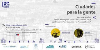 FORO Ciudades para la gente 2018