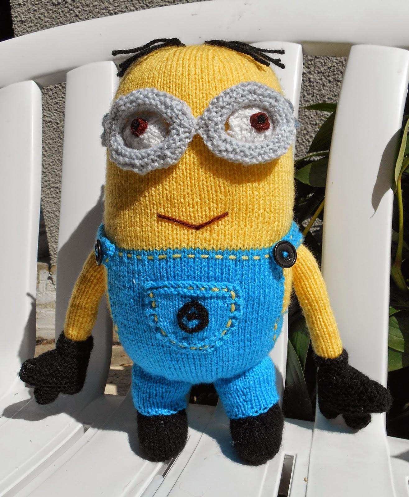 minion au tricot