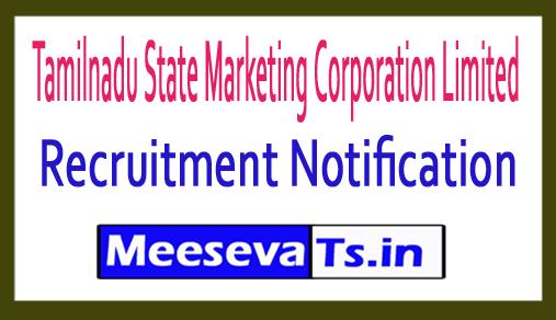 Tamilnadu State Marketing Corporation Limited TASMAC Recruitment