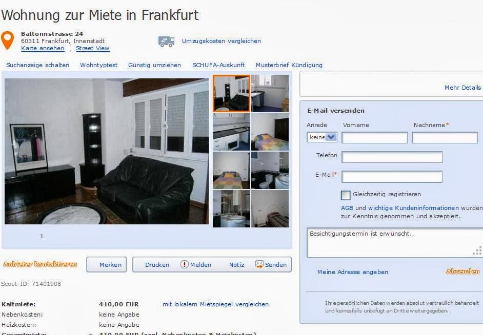 wohnung zur miete in frankfurt battonnstrasse. Black Bedroom Furniture Sets. Home Design Ideas