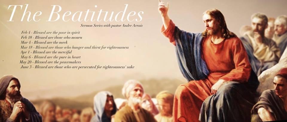 卓瑪莉~向高處行: 八福 虛心的人有福了(太五3)