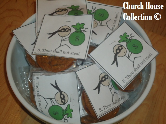 Church house collection blog thou shalt not steal snacks for What craft should i do