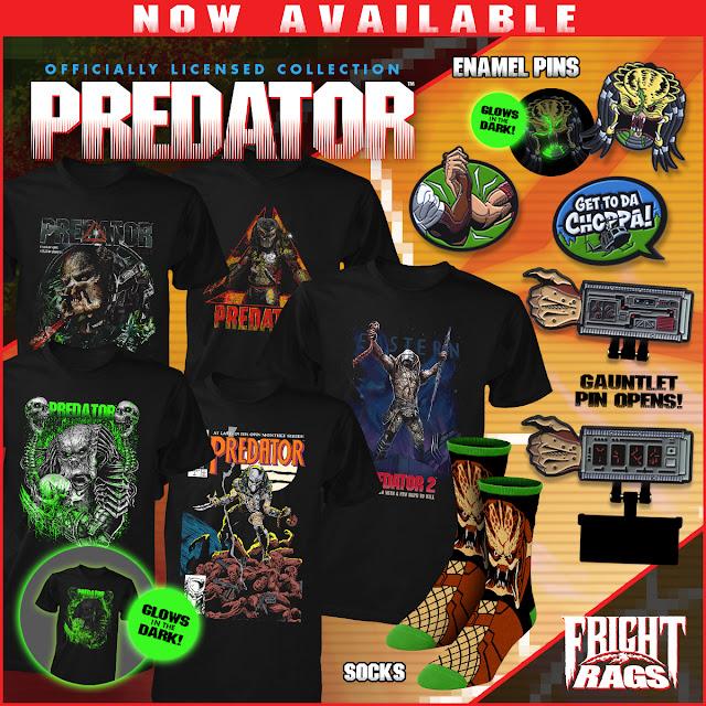 Predator Fright Rags Image
