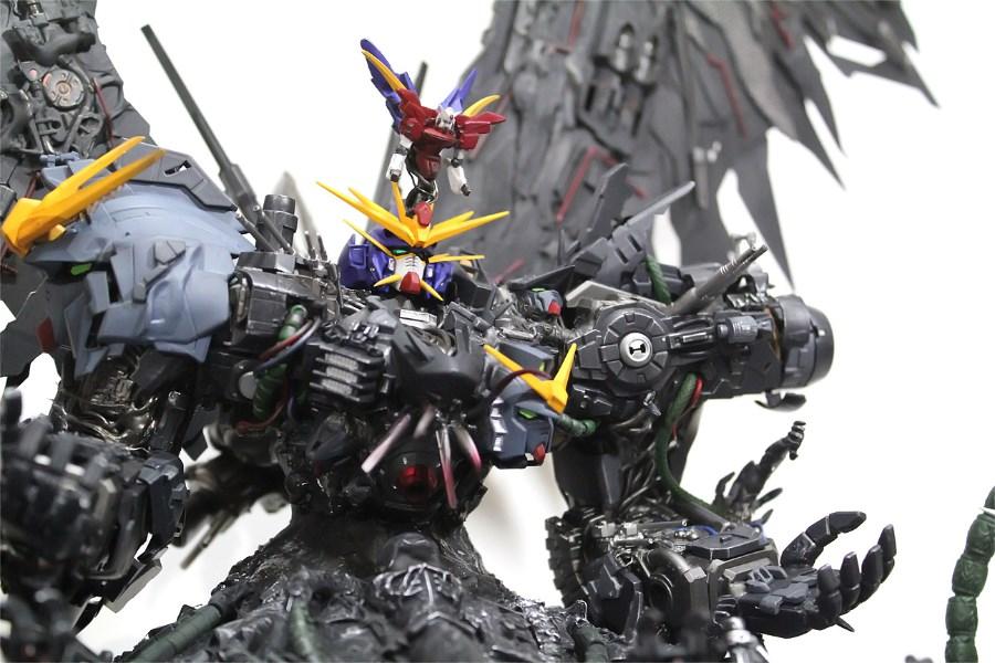 GUNDAM GUY: Devil Gundam [The Colony] - Custom Build