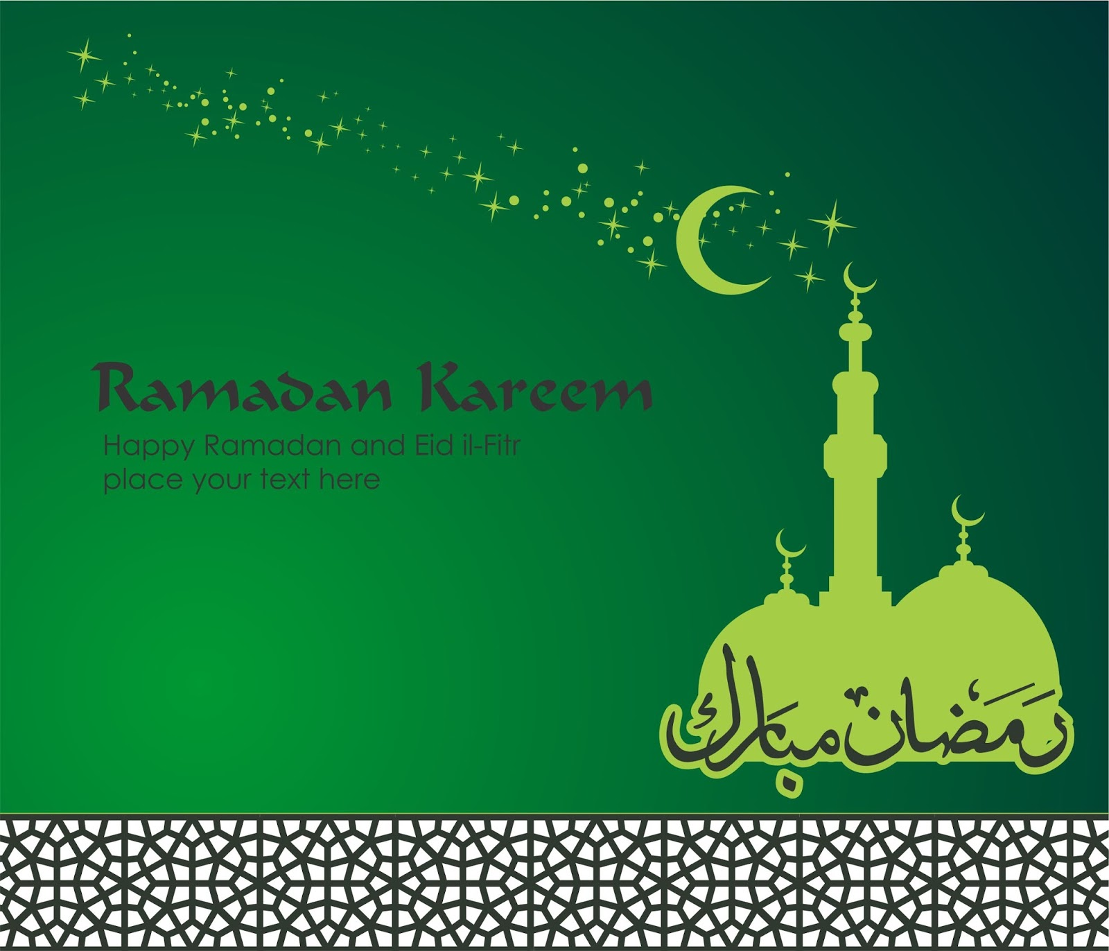 Macam Ucapan Hari Raya Idul Fitri: Vector Desain Ramadhan Dan Kartu Lebaran Idul Fitri