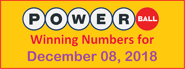 PowerBall Winning Numbers for Saturday, 08 December 2018