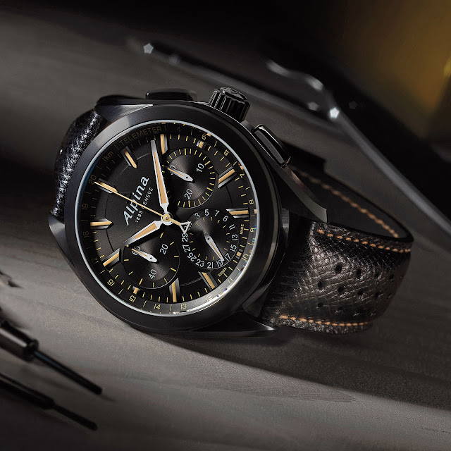 Alpina Alpiner 4 Manufacture Flyback Chronograph Watch