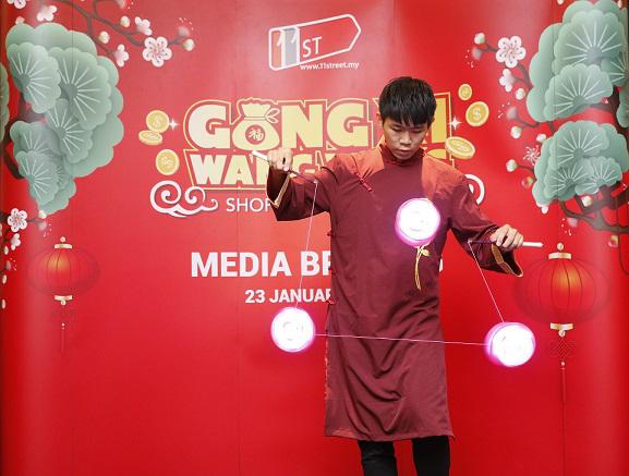 11street Launches Gong Xi Wang Wang