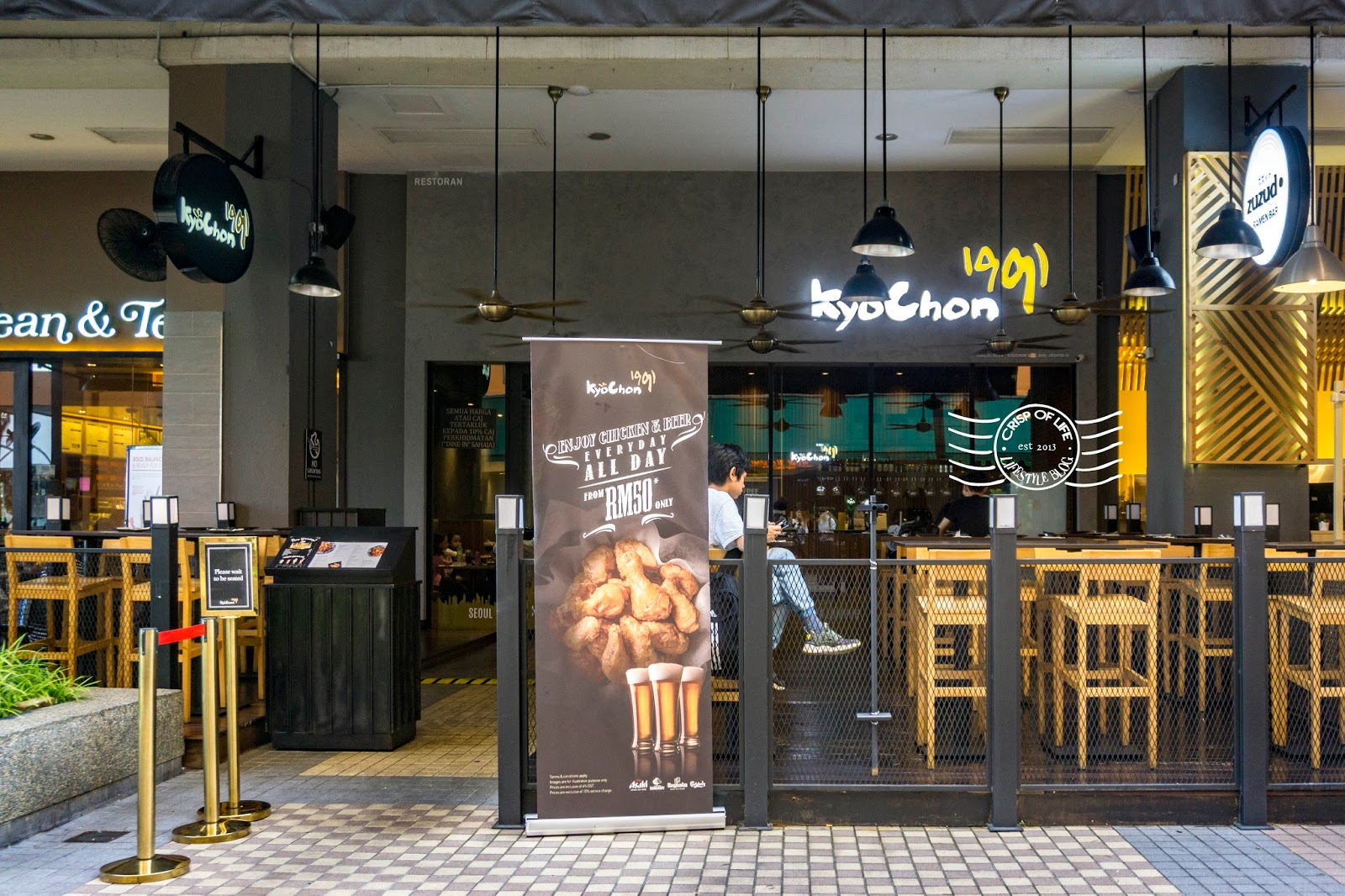 kyochon fried chicken penang gurney plaza G hotel