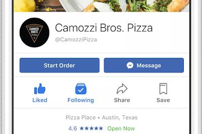 Mirip Gojek, Fitur Baru Facebook Ini Bisa Kirim Makanan Lewat Delivery