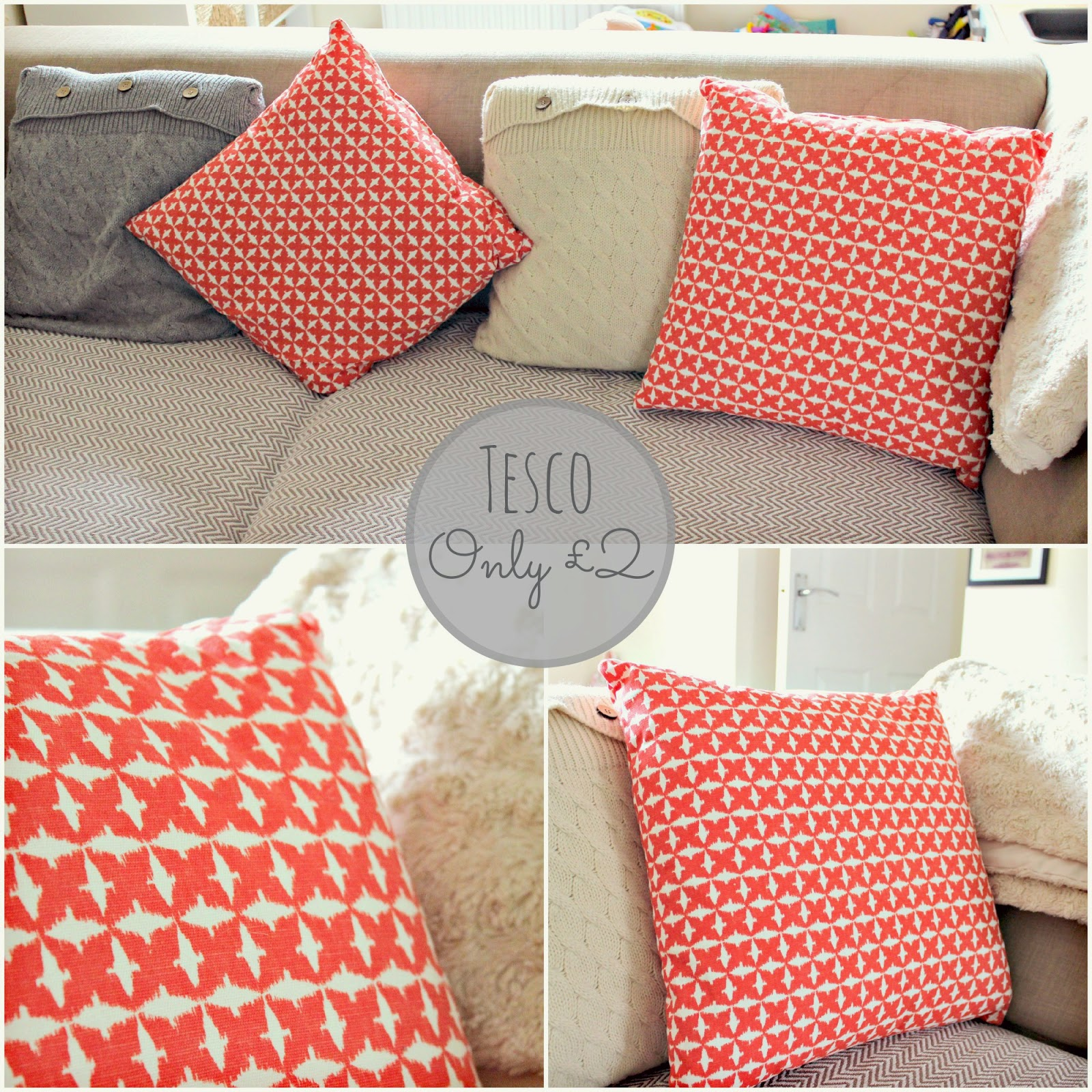 tesco cushions