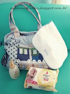 o que levar para maternidade - mala da maternidade