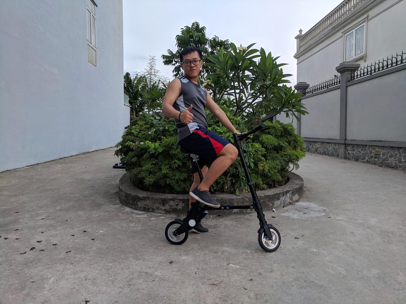 Xe đạp gấp A Bike