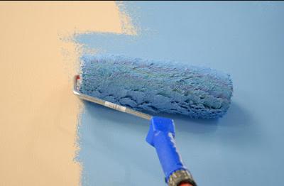 tips mengecat dinding yang benar