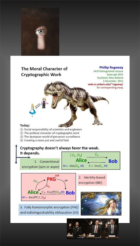 The Cryptography Conundrum  The%2BMoral%2BCharacter%2Bof%2BCryptographic%2BWork.%2BPhillip%2BRogaway.%2BAsiaCrypt%2B2015.%2B%25231ab