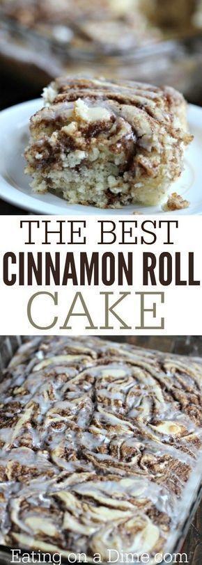 The Best Cinnamon Roll Cake Recipe