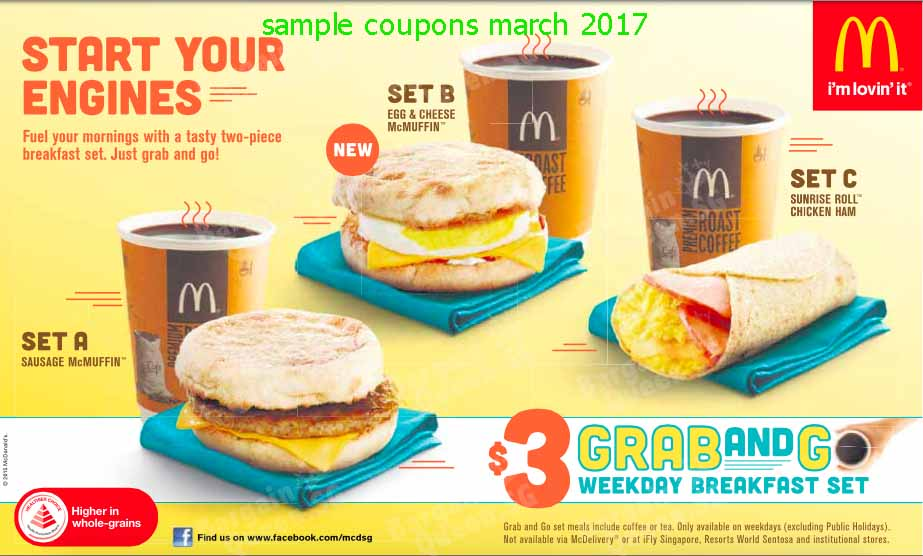 Free Hash Browns when You Purchase Breakfast Sandwich with McDonalds App Excludes $1 $2 $3 Dollar Menu and Everyday Value Menu products. Hash Browns not available as a part of All Day Breakfast in all restaurants.