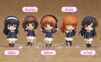 Figura Ankou Team Ver. Nendoroid Petite 5Pack Box Girls und Panzer