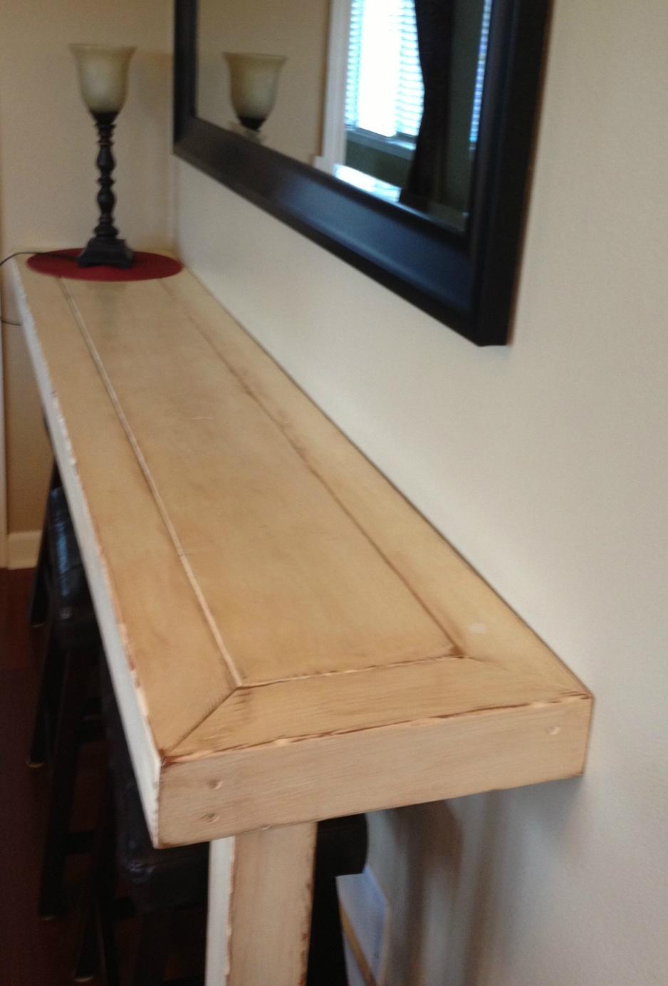 dad built this farmhouse snack bar buffet. Black Bedroom Furniture Sets. Home Design Ideas