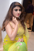 Sony Charista sizzling look in saree-thumbnail-8