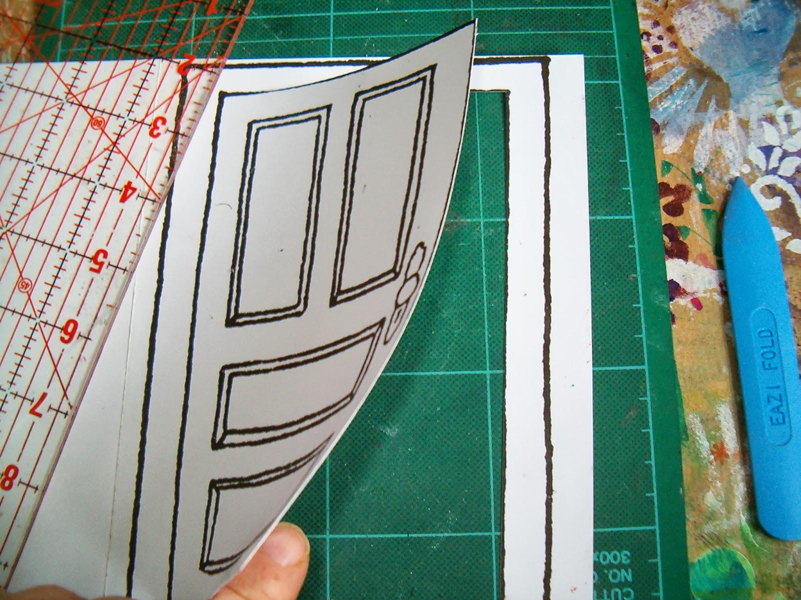 Aisling Beatha Messy Sunday Craft Opening Door Message Centre & door craft | Crafting