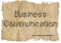 Business Communication Sheet