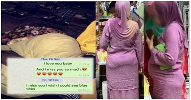 Terlalukan rindukan suami yang telah meninggal dunia, wanita ini nekad menghantar chat whatsapp setiap hari dan mengaharapkan suaminya reply chatnya. Akhirnya….. !!