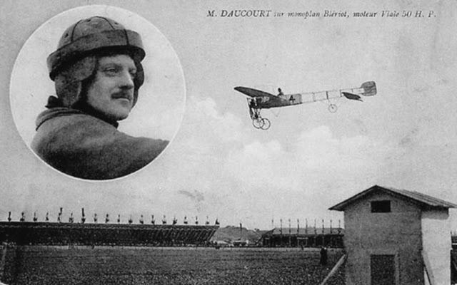 1910 tarihinde paristeki gösterideki uçak kazası ile ilgili görsel sonucu