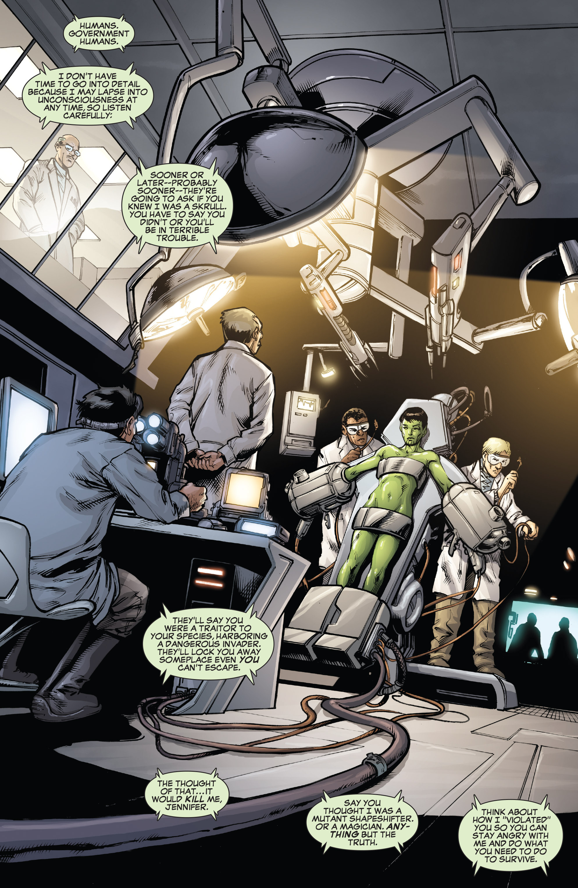Read online She-Hulk (2005) comic -  Issue #38 - 7