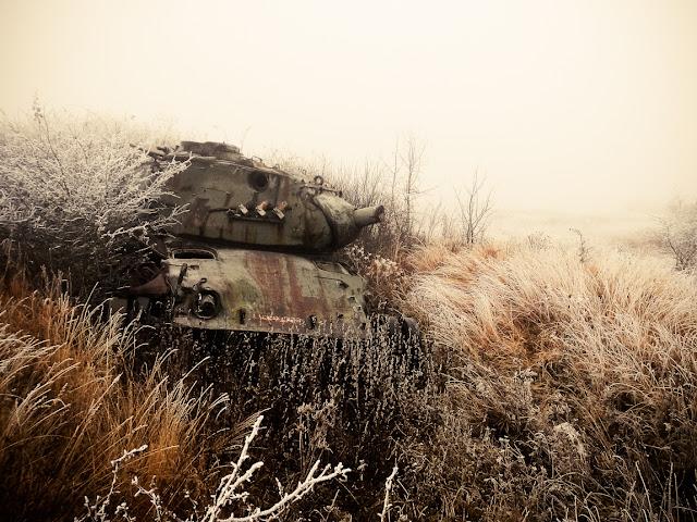 M47 abandoned tank verlassener panzer