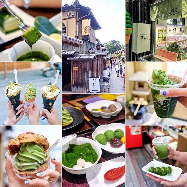 TOP 10 Places for MATCHA GREEN TEA Lovers in KYOTO!