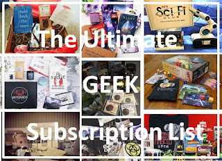 Ultimate Geek Subscription Gift List