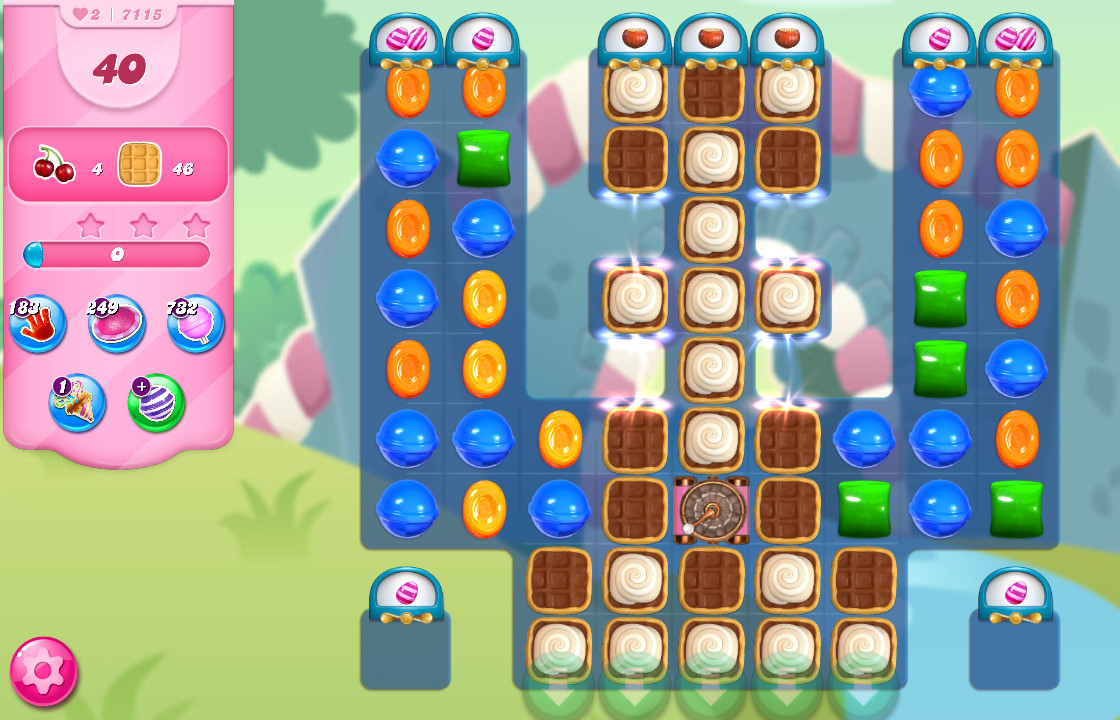 Candy Crush Saga level 7115