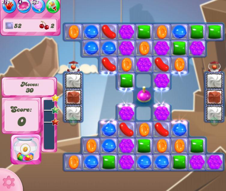 Candy Crush Saga level 2713