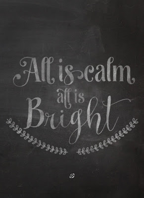 Image result for image of all is calm, all is bright