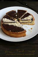 Тарт с шоколад, банан и Маскарпоне