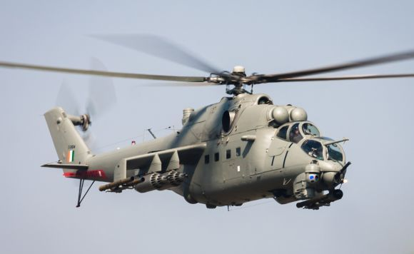 Mi-35 India buatan Rusia