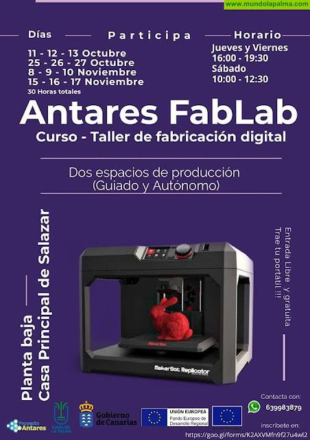 Taller de fabricación digital (gratuito)