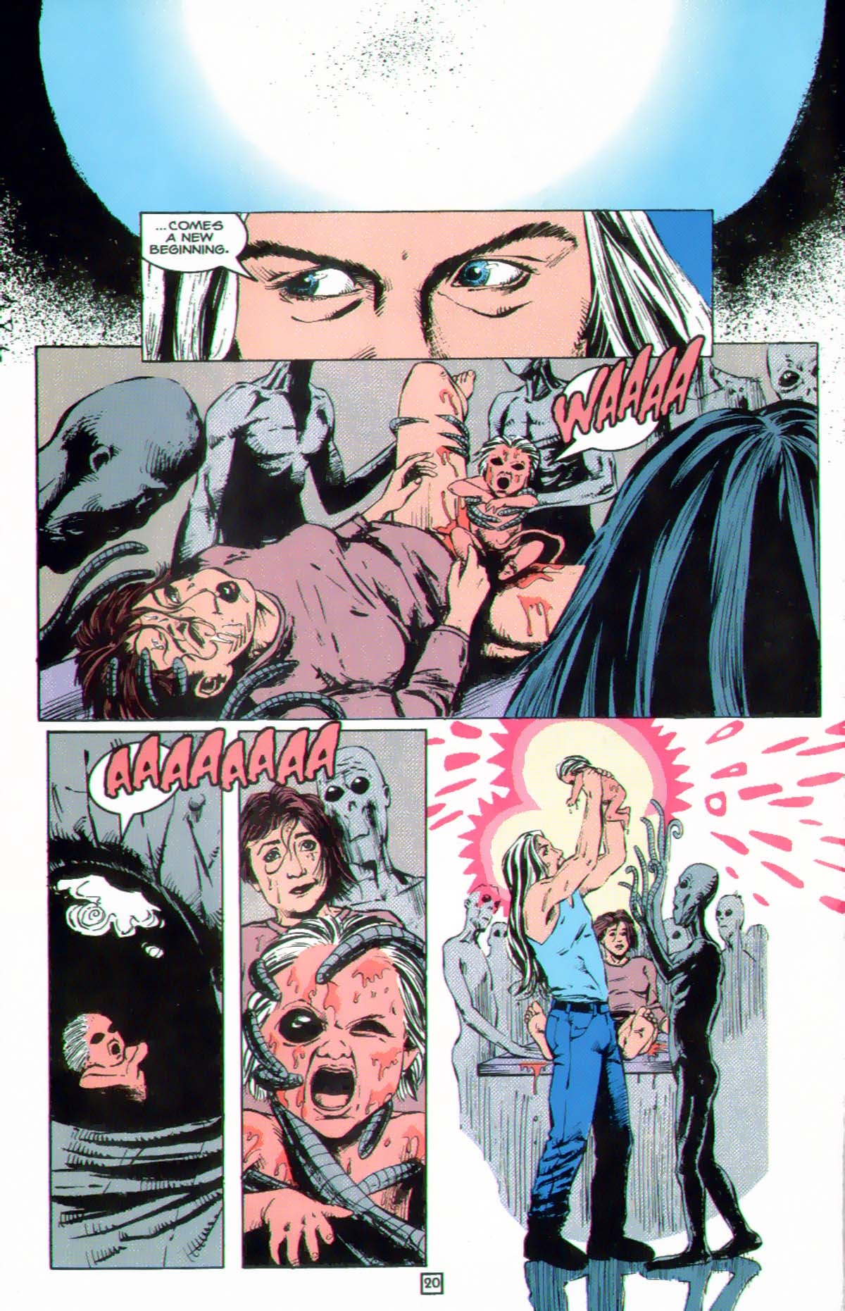 Read online Animal Man (1988) comic -  Issue #89 - 20