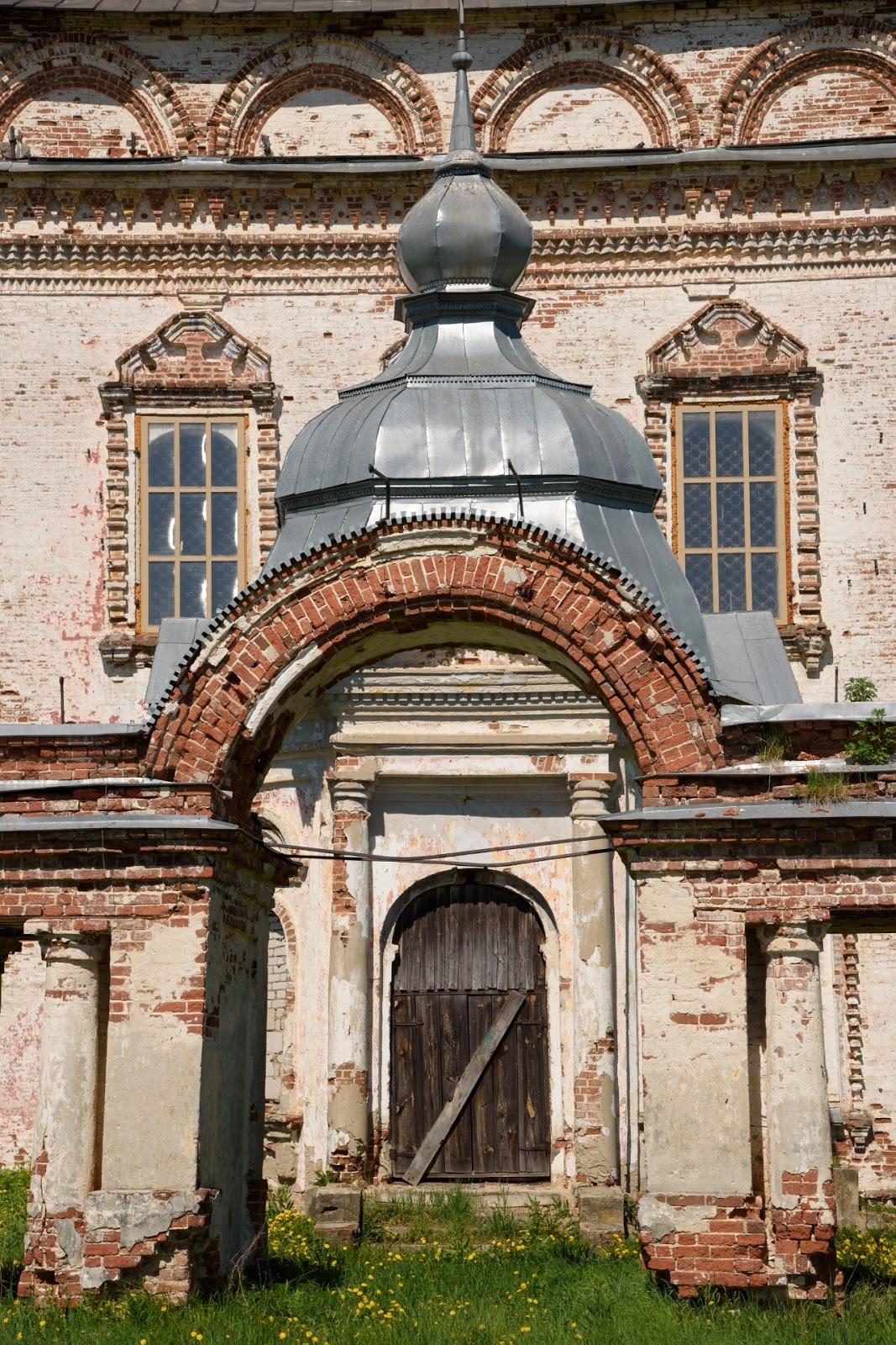Элемент в храме села Парское
