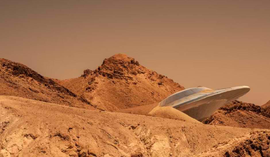 Yaphet Kotto Alien Diary: CRASHED FLYING SAUCER UFO ...