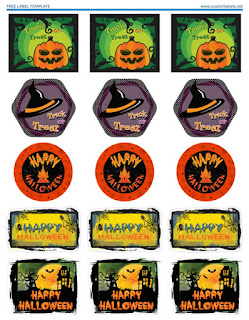 photograph regarding Halloween Stickers Printable identify Cost-free Halloween Sticker PDF Printable - GrannyEnchanted.Com
