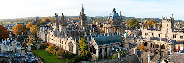 Pontos turísticos de Oxford