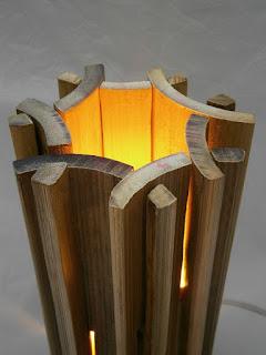 Lampu Meja Dari Bambu